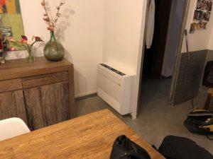 installation console Mitshubishi mon split Seillons-Source-d Argent
