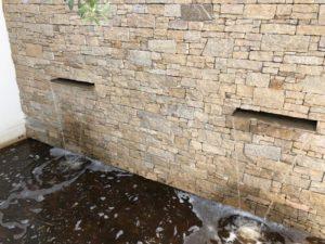 installation pompe a eau pour fontaine Golf de Saint Tropez